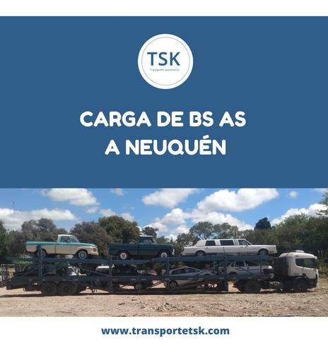 transporte/ traslados de autos en mosquito , trailer