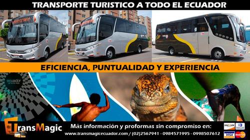 transporte turistico ecuador / tour de compras colombia