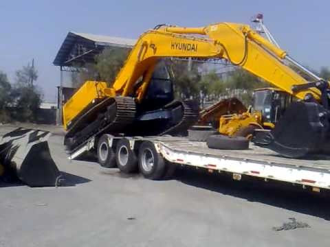 transporte y alquiler de maquinaria pesada a nivel nacional