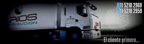 transporte y distribución congelados, refrigerados y secos