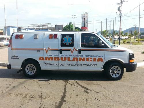 transporte y servicios de ambulancia