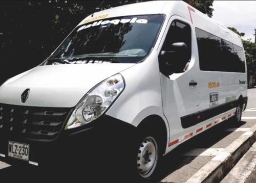 transporte y turismo nacional para 18 pasajeros