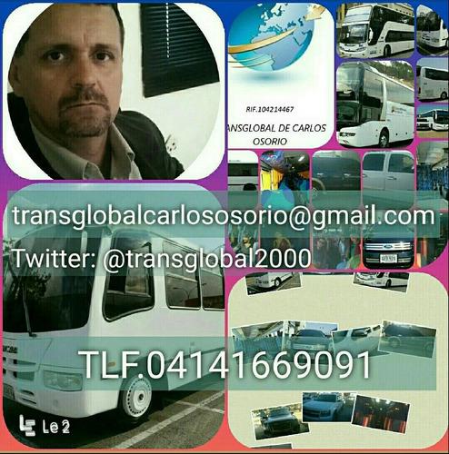 transporte y viajes transglobal de carlos osorio