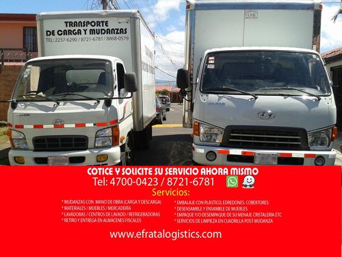 transportes de carga, fletes y mudanzas efrata 4700-0423