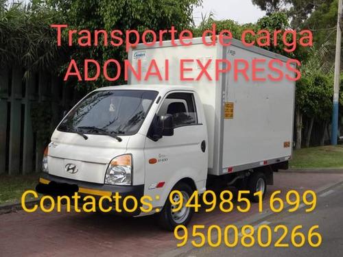 transportes de carga y distribución a nivel local y nacional