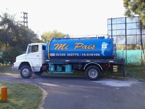 transportes de residuos desagotes,bombas de alto vacio