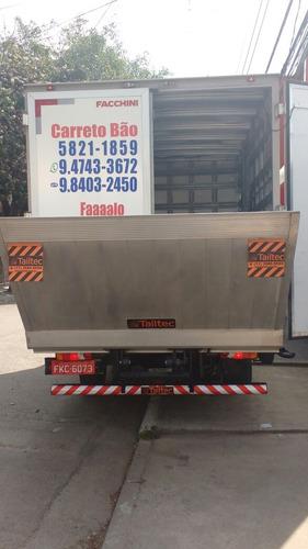 transportes e mudanças frete carreto master baú c/ plataform