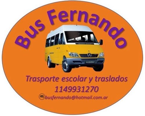 transporte&traslado personal#combis escolar#