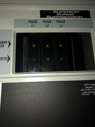 transtector apex series supresor de picos