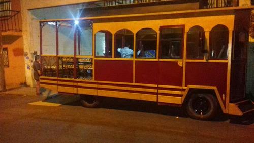 tranvia turistico de 24 pasajeros 2016