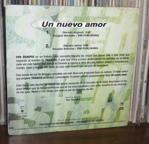 tranzas cd single un nue amor