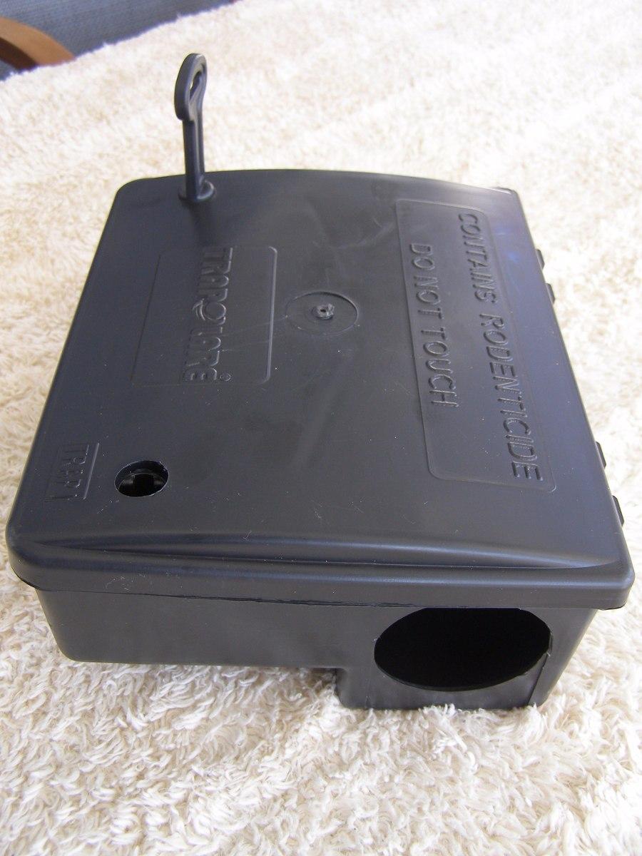 Trap1 caja cebadera cebadero de plastico trampa para ratones 1 en mercado libre - Como hacer una trampa para ratas ...