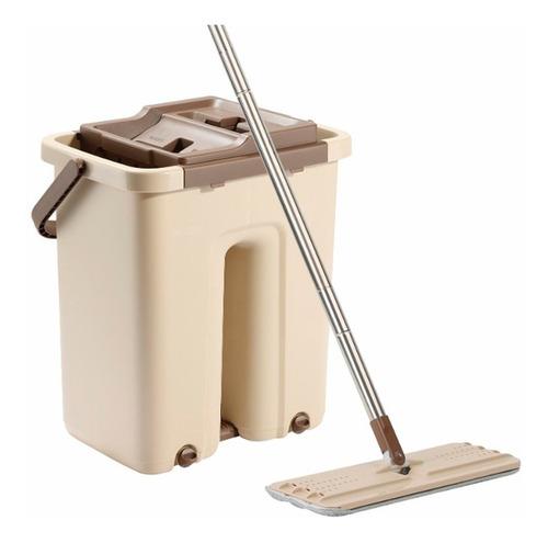trapeador para pisos mopa balde centrifugo newclear1 premium