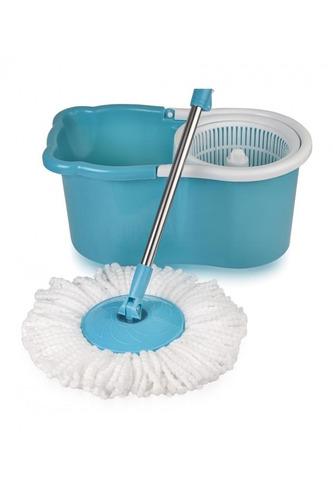 trapeador spin mop con exprimidor 360 lavada y secado