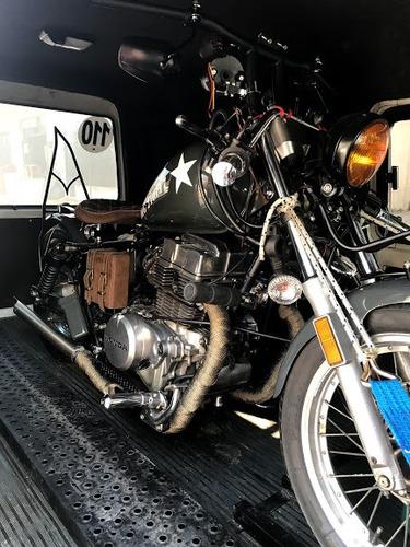 traslado acarreo grúa de motos y cuatriciclos