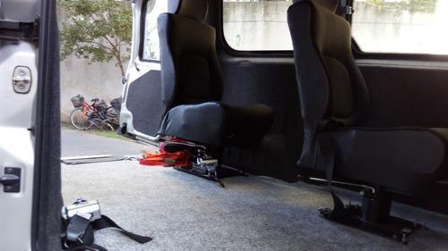 traslado accesible para discapacitados en su silla de ruedas