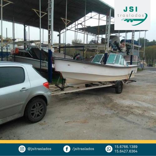 traslado de lanchas ( pequeñas y medianas embarcaciones )