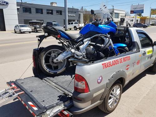 traslado de motos al interior y en caba auxilio de motos