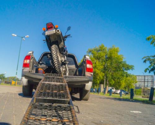 traslado de motos remolque y grua asistencia mecanica ligera