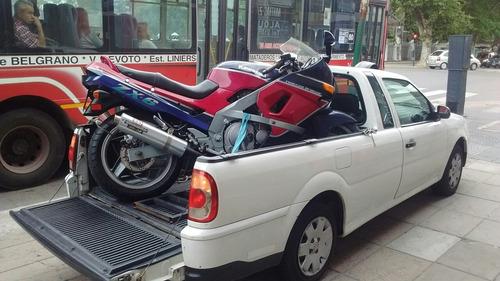 traslado de motos y cuatriciclos a todo el país las 24hs