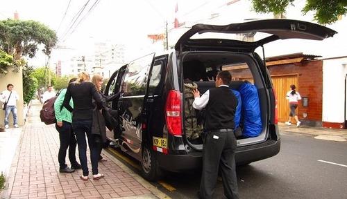 traslado de san miguel al aeropuerto taxi van lima