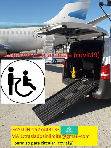 traslado  discapacitados en  silla de ruedas (caba y amba)