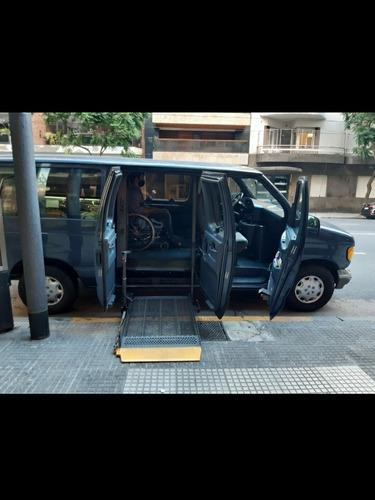 traslado para personas discapacitadas en silla de ruedas