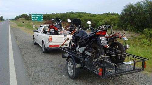traslado remolque de motos  cuatriciclos a todo el país !!