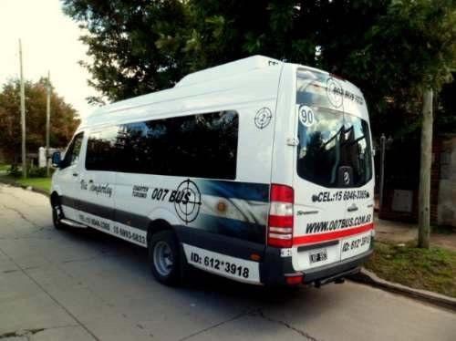 traslados - eventos - charter - minibus - combi