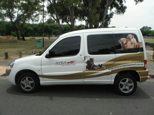 traslados para mascotas y sus dueños a todo el pais.