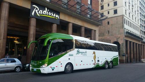 traslados pasajeros excursiones viajes omnibus micros