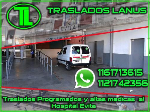 traslados programados de pacientes-ambulancia-lanus-zonasur