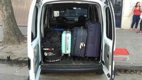 traslados viajes minifletes aeroparque. ezeiza. camioneta.