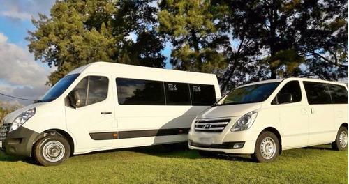traslados,transporte pasajeros,camionetas y omnibus,turismo