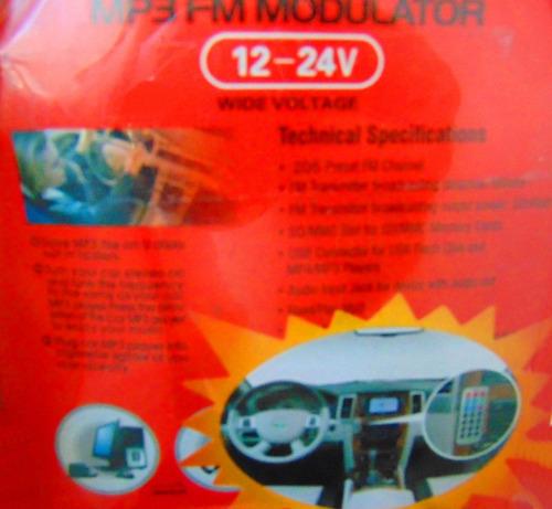 trasmisor fm wash con control remoto   19 01 1056