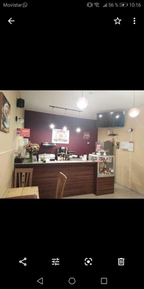 traspaso café restaurante en miraflores