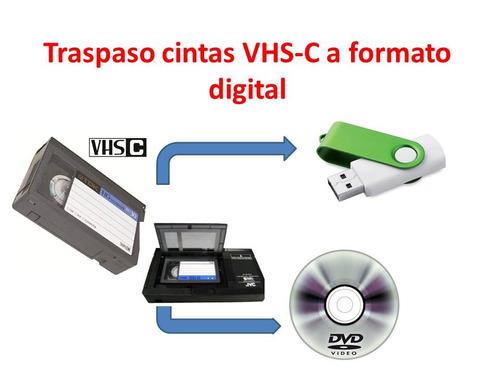 traspaso de fotos y videos vhs a formato digital