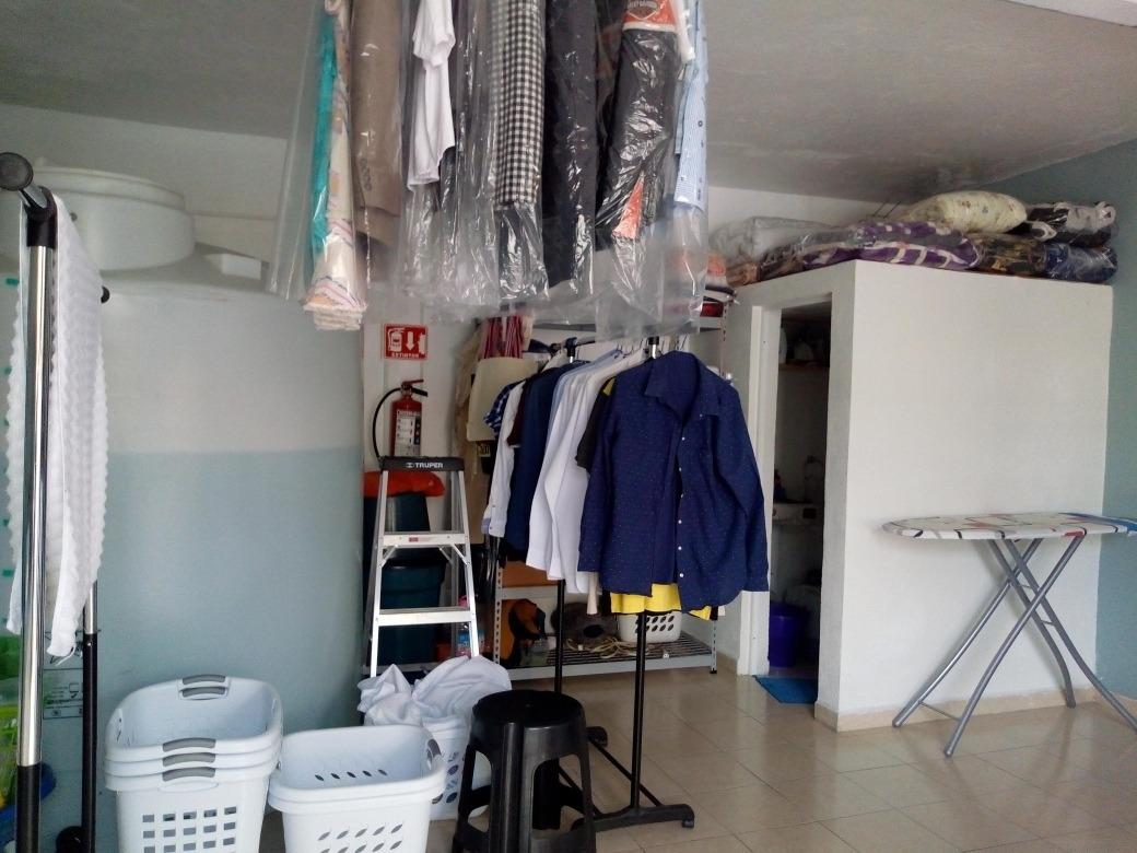 traspaso lavandería aclientada