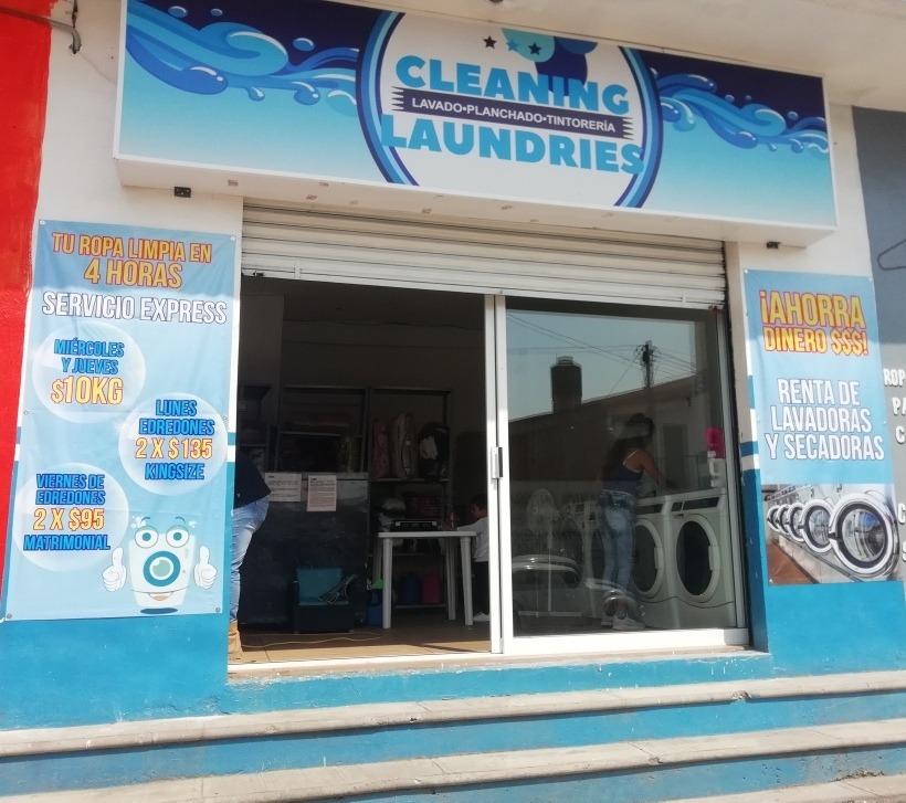 traspaso lavandería funcionando aclientada