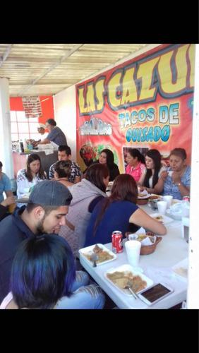 traspaso negocio de tacos de guisado av palomas ecatepec