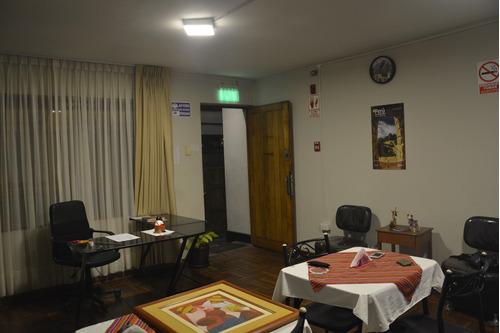 traspaso negocio  hostal ubicado en barranco, en operación