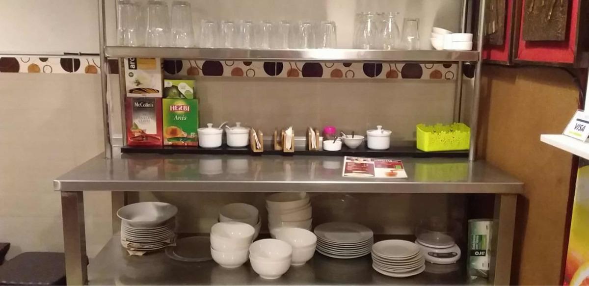 traspaso restaurante - cafeteria precio negociable