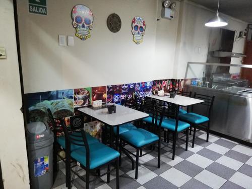 traspaso restaurante en excelentes condiciones