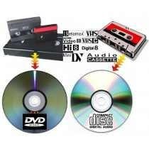 traspasos de videos a dvd