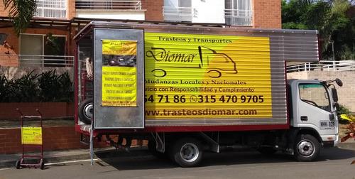 trasteos cali, mudanzas,  camiones trasteos