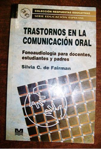 trastornos en la comunicación oral - silvia c. de fairman