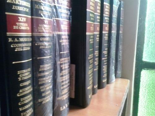tratado de derecho comercial martorell x cada tomo dyf