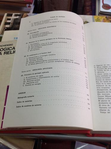 tratado de geología. p. bellair. ch. pomerol.