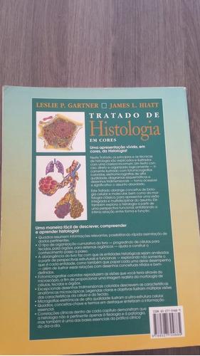 tratado de histologia em cores - leslie p. gartner e james