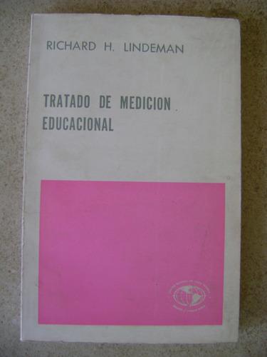 tratado de medicion educacional. richard h. lindeman $189